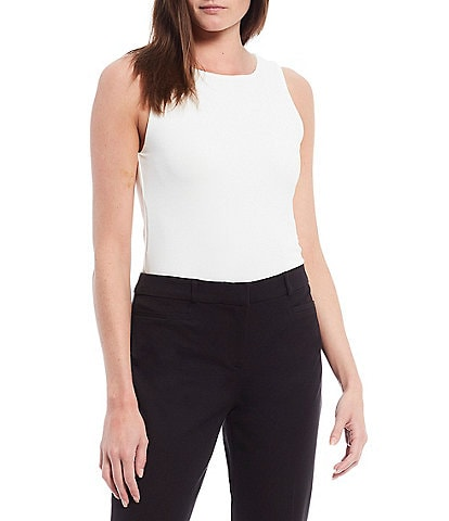 Gibson & Latimer Sleeveless Knit Bodysuit