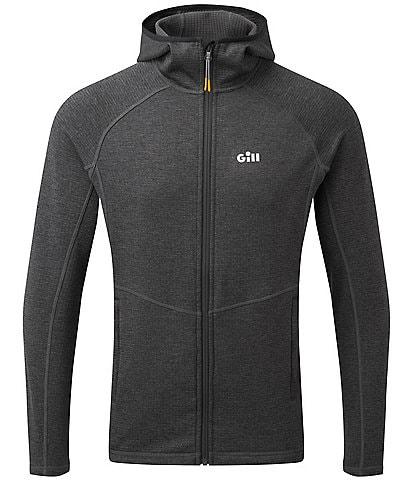 Gill Slim-Fit Dart Performance Stretch Long-Sleeve Full-Zip Hoodie