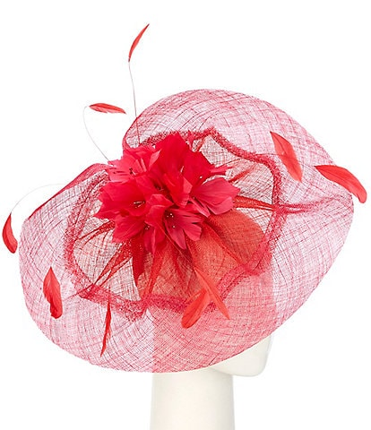 Giovannio by Emma B Two Tone Fascinator