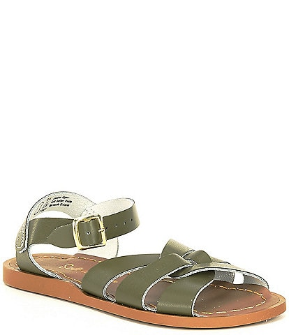 Girls' Salt Water by Hoy The Original Leather Sandals (Youth)