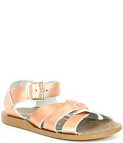 Girls' Salt Water by Hoy The Original Leather Sandal