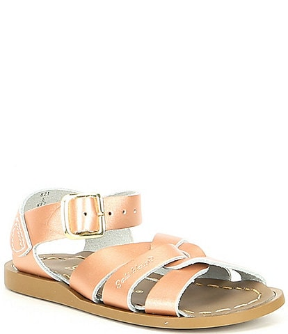 Girls' Saltwater by Hoy The Original Leather Water Friendly Sandals (Infant)