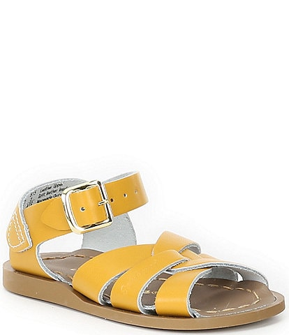 Girls' Salt Water by Hoy The Original Leather Sandals Infant
