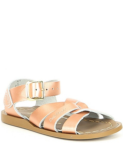 Girls' Salt Water by Hoy The Original Water Friendly Leather Sandals (Toddler)