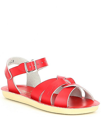Girls' Sun-San Sandal by Hoy Swimmer Leather Water Friendly Sandals Infant