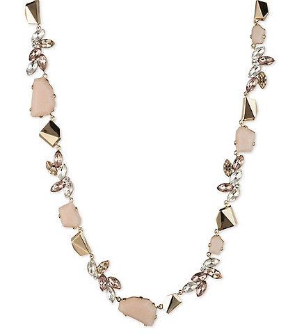Givenchy Blush Stone Collar Necklace