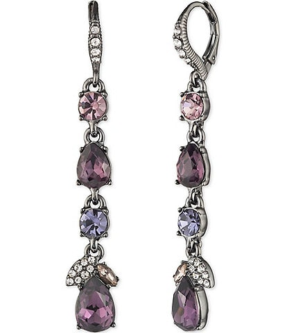 Givenchy Cluster Linear Earrings