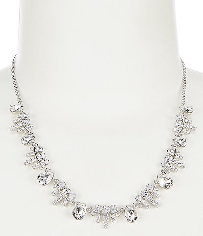 Givenchy Crystal Frontal Necklace