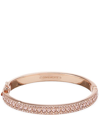 Givenchy Crystal Pave Bangle Bracelet