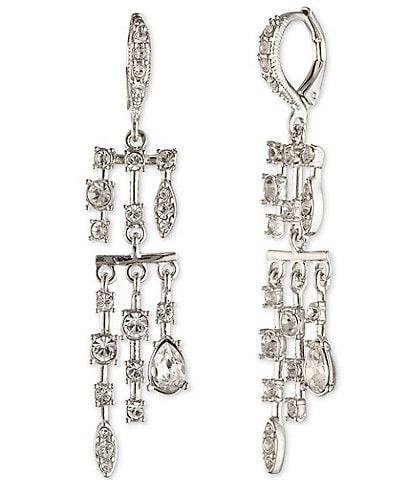 Givenchy Crystal Stone Chandelier Earrings