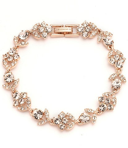 Givenchy Everly Rose Gold Silk Flex Bracelet