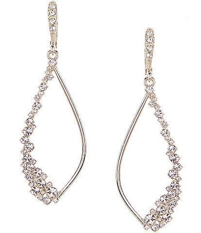 Givenchy Gold-Tone Open Drop Earrings