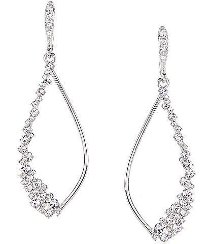 Givenchy Open Drop Earrings