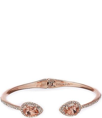 Givenchy Pave Pear Cuff Bracelet