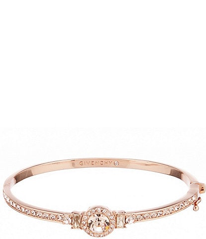 Givenchy Rose Gold Round Bangle