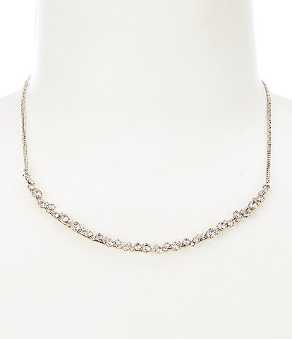 Givenchy Silk Stone Frontal Necklace