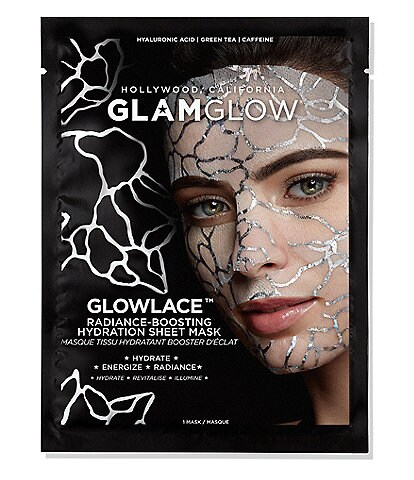 GlamGlow GLOWLACE™ Radiance Boosting Hydration Sheet Mask