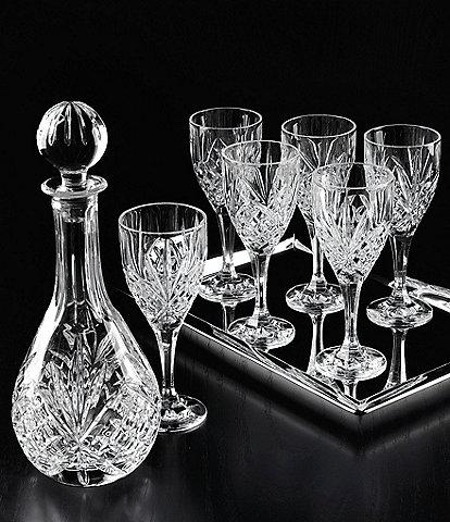 Godinger Dublin Diamond-Cut Crystal 8-Piece Wine Set