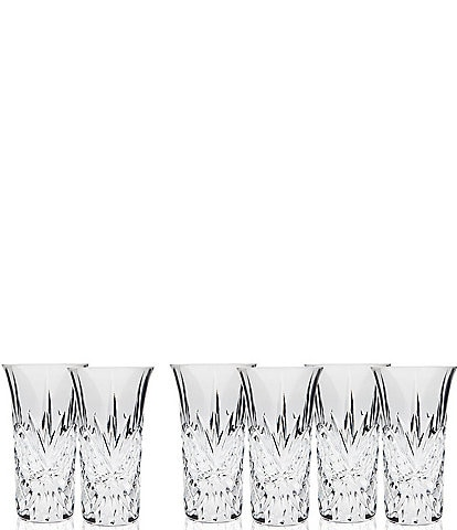 Godinger Dublin Handcrafted Crystal Vodka Shooters, Set of 6