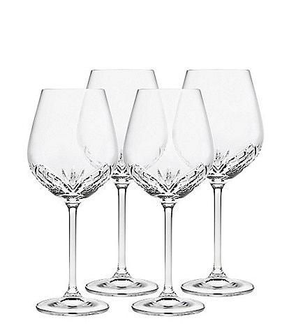 Godinger Dublin Reserve Crystal Goblets Set of 4