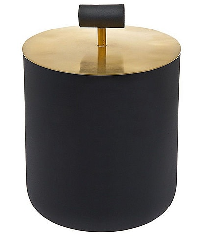 Godinger Encalmo Black & Gold Ice Bucket