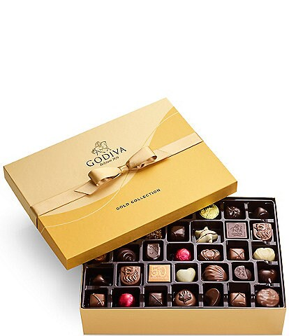 Godiva Chocolatier 70-Piece Gold Gift Box