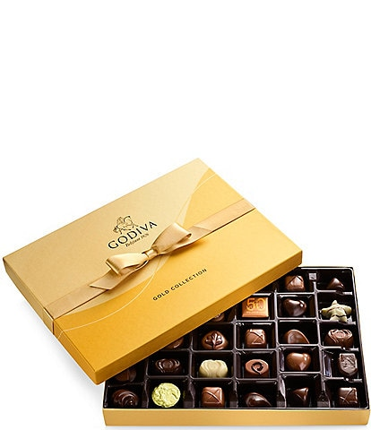 Godiva Chocolatier 36-Piece Chocolate Gold Gift Box