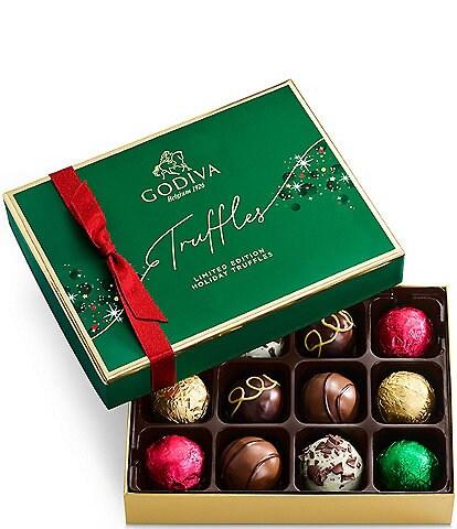 Godiva Chocolatier Limited Edition Holiday 12-Piece Truffle Box