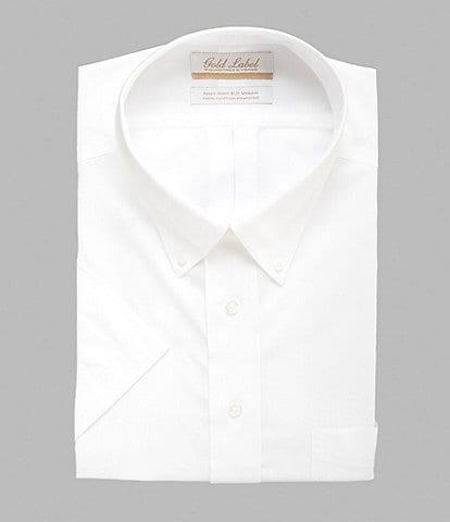 5d01f13c3c1e2e Gold Label Roundtree & Yorke Big & Tall Non-Iron Button-Down Collar Short