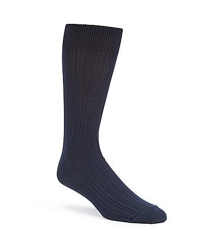 Gold Label Roundtree & Yorke Big & Tall Solid Crew Dress Socks 3-Pack