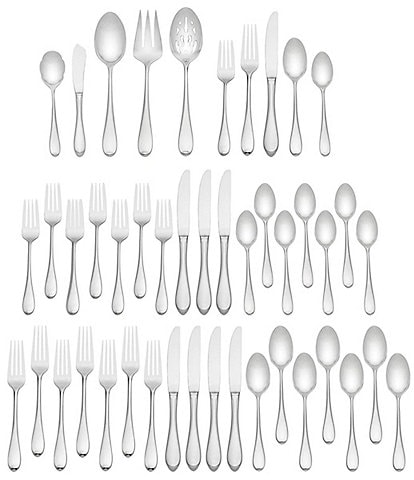 Gorham Studio 45-Piece Stainless Flatware Set