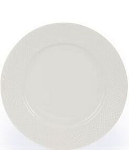 Gorham Woodbury Embossed Bone China Dinner Plate