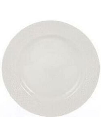Gorham Woodbury Embossed Bone China Salad Plate