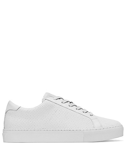 GREATS Women's Royale Leather Perforated Lace-Up Sneakers