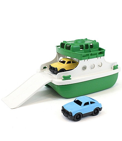 Green Toys Ferry Boat with Mini Cars