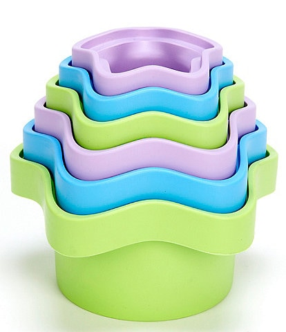Green Toys Star Shape Stacking Cups