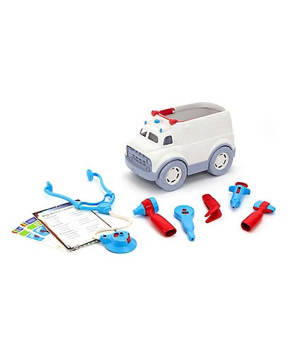 Green Toys Toy Ambulance & Doctor's Kit