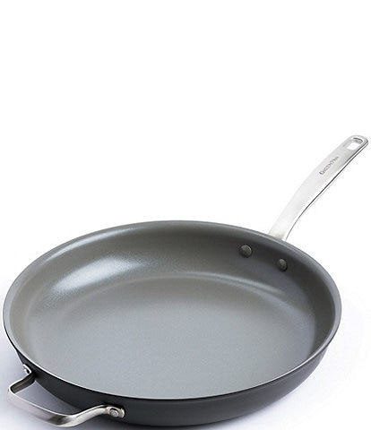 GreenPan Chatham 13.5#double; Fry Pan with Helper Handle