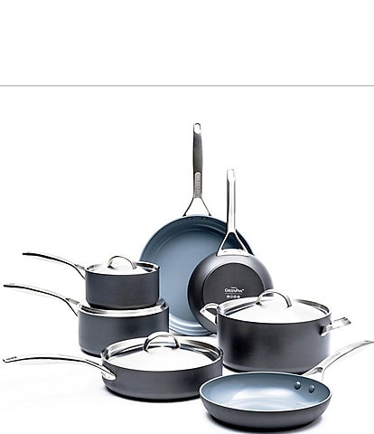 GreenPan Paris Pro 11-Piece Ceramic Non-stick Cookware Set