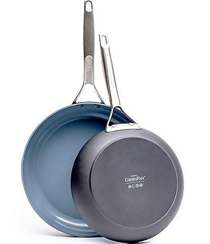 GreenPan Paris Pro Ceramic Non-Stick 10#double; & 12#double; Open Fry Pan Set