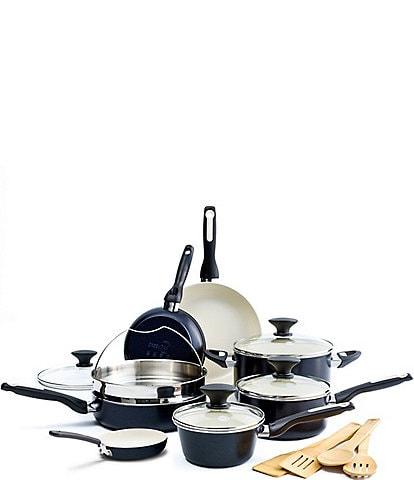 GreenPan Rio Ceramic Non-Stick 16-Piece Cookware Set