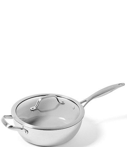 GreenPan Venice Pro Evershine Ceramic Non-stick 3.5-Quart Covered Chef's Pan