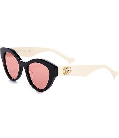 Gucci Cat Eye 51mm Sunglasses