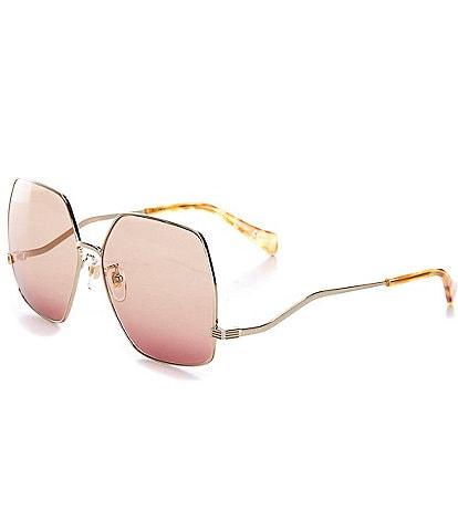 Gucci Gg1005s 61mm Geometric Sunglasses