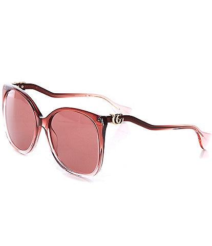 Gucci Gg1010s 60mm Rectangle Sunglasses