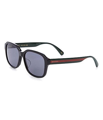 Gucci Men's Gg0929sa Square 57mm Sunglasses