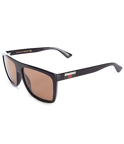Gucci Men's Rectangular 59mm Sunglasses