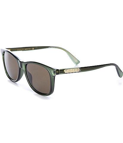 Gucci Rectangle 54mm Sunglasses