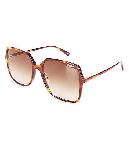 Gucci Women's 57mm Square Oversized Sunglasses