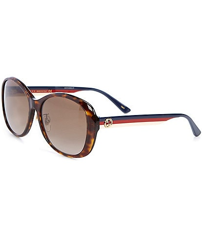 Gucci Women's Butterfly 59mm Sunglasses